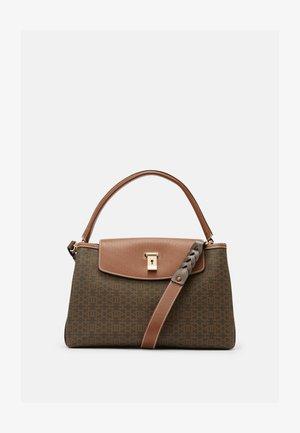 LAYKA TOP HANDLE - Handbag - brown-multi-coloured