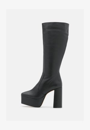 BOOT - Platform boots - black