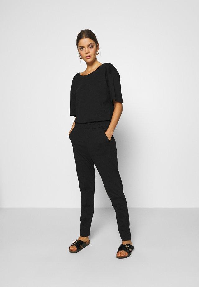 BOHDANA SUIT WMN 1\2 SLV - Jumpsuit - dark black