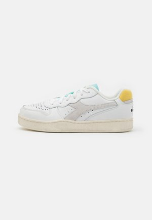 BASKET ICONA  - Trainers - white/goldfinch/blue tint