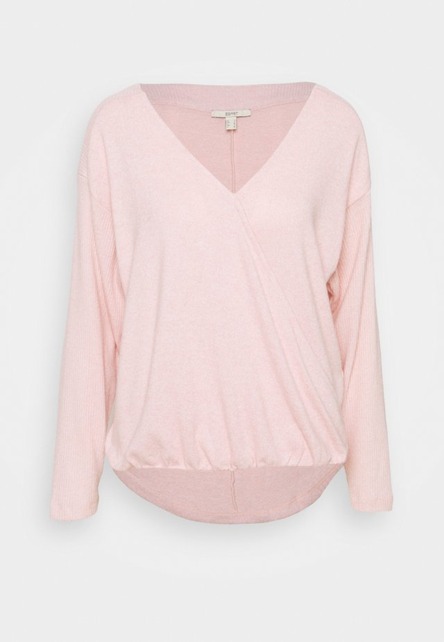 PER WRAP  - Sweter - nude