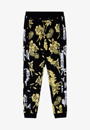 Trousers - black/yellow