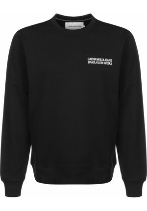 SWEATER FLYER PLACEMENT CREW - Jumper - black