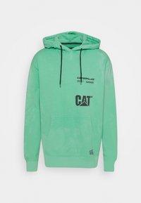 Caterpillar - HOODIE - Sweatshirt - mint - 0