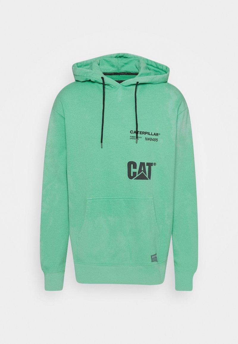 Caterpillar - HOODIE - Sweatshirt - mint