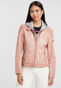Gipsy - ABBY - Leather jacket - rose - 0
