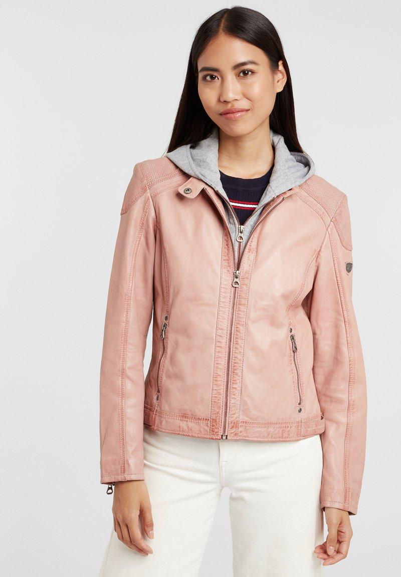 Gipsy - ABBY - Leather jacket - rose