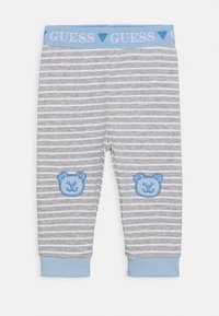 Guess - BODY AND PANTS BABY SET - Body - white/blue combo - 3