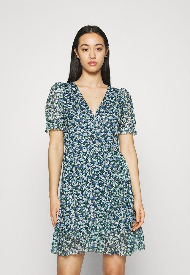 VIVOLETTE WRAP DRESS - Vestito estivo - navy blazer/cottage