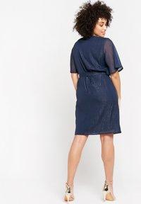 LolaLiza - Cocktail dress / Party dress - navy blue - 4