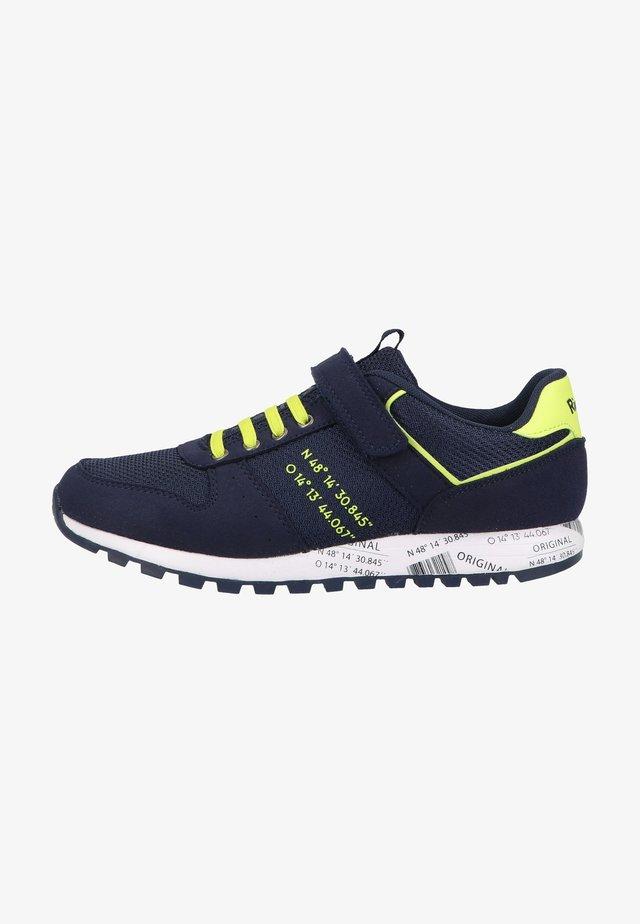 Sneakers laag - atlantic/neon yellow