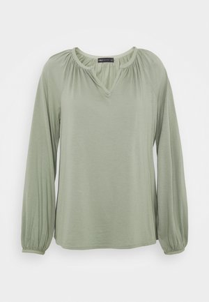 POPOVER - Long sleeved top - khaki