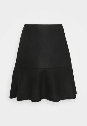 YASCOLLY NAPLON SKIRT - Miniskjørt - black