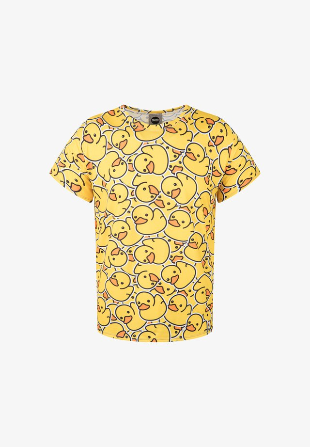 RUBBER DUCK - Print T-shirt - yellow