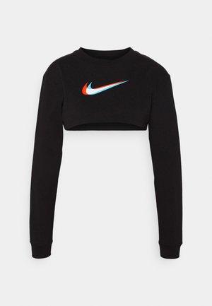 CROP - Sweatshirt - black