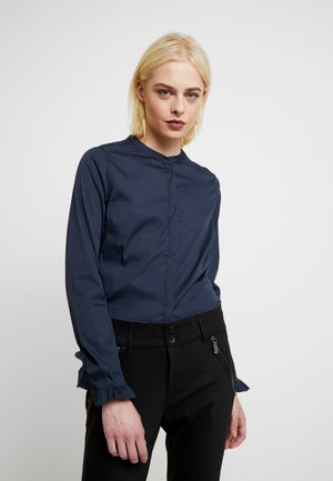 MATTIE  - Button-down blouse - night blue
