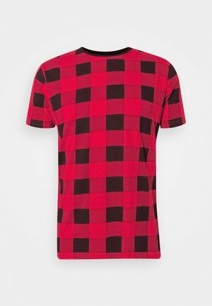 DERULO - Camiseta estampada - red/black
