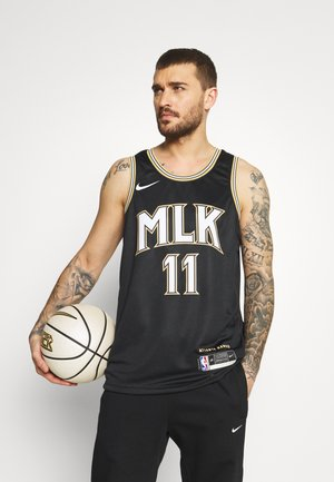 NBA ATLANTA HAWKS YOUNG CITY EDITION SWINGMAN  - Club wear - black
