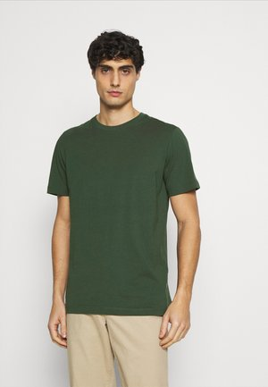 SLHNORMAN O NECK TEE  - Basic T-shirt - sycamore