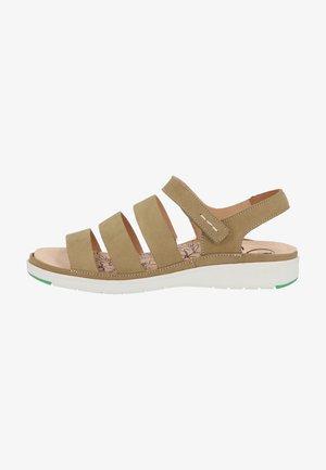 Sandaler - pistazie