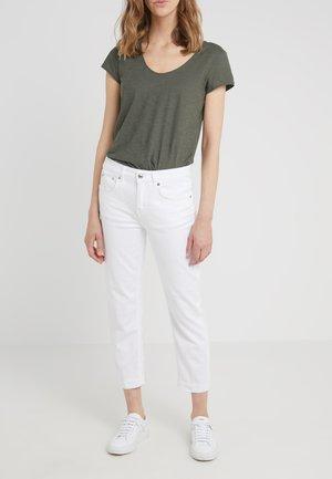 PASS - Džíny Straight Fit - white