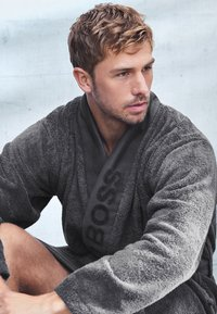 BOSS Home - Dressing gown - anthracite - 0