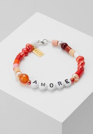 CANDY MAN BRACELET LOVE - Bracelet - red