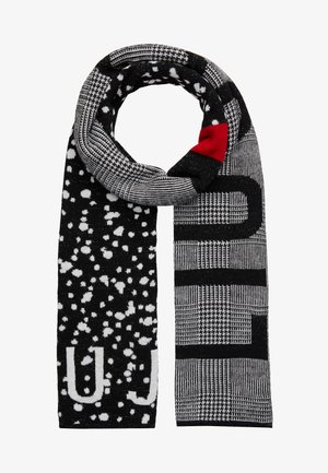 SCIARPA MIX PATTERN LOGO - Scarf - white/black