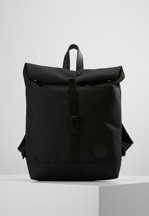ROLL TOP BACKPACK MINI - Rucksack - black