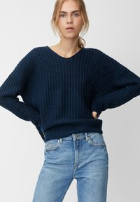 Marc O'Polo DENIM - LONG SLEEVE - Jumper - royal blue - 0