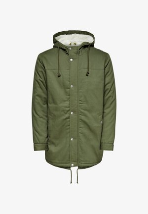 Winter coat - olive night