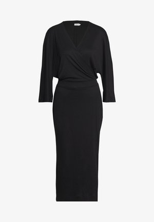 IRENE DRESS - Žerzejové šaty - black