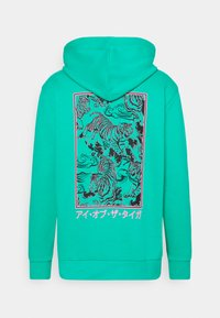 Urban Threads - FRONT & BACK GRAPHIC HOODY UNISEX - Hoodie - green - 6