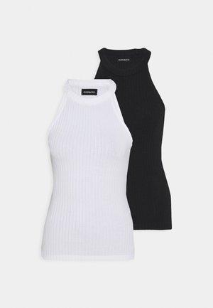 2 PACK - Toppi - white/black