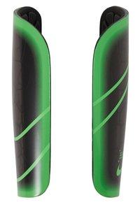 Nike Performance - MERCURIAL LITE UNISEX - Shin pads - black/green strike - 2