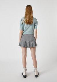 PULL&BEAR - Mini skirt - mottled black - 3