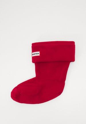 ORIGINAL BOOT SOCK SHORT - Socks - military red
