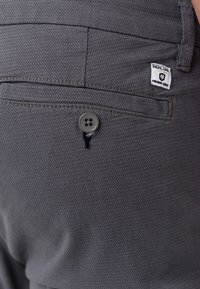 INDICODE JEANS - CREED - Chinos - black - 4