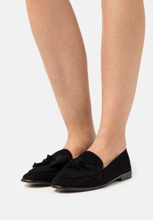 VERNONE - Nazouvací boty - noir