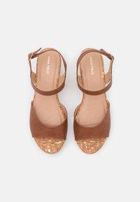 Anna Field - Platform sandals - cognac - 4