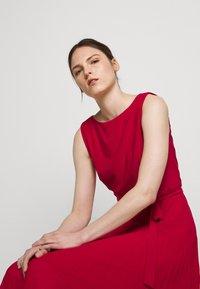 Lauren Ralph Lauren - MID WEIGHT DRESS  COMBO - Day dress - berry sorbet - 3