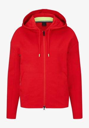 ERLA - Zip-up sweatshirt - rot