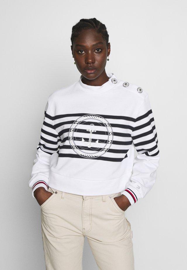ICON HIGH - Sweatshirt - white