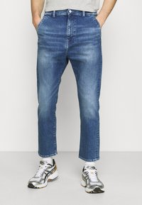 Edwin - UNIVERSE PANT CROPPED - Relaxed fit jeans - blue denim - 0