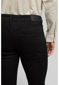 Esprit - Trousers - black rinse - 4