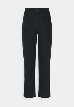 ALPHA ICON TAPERED - Trousers - mineral black