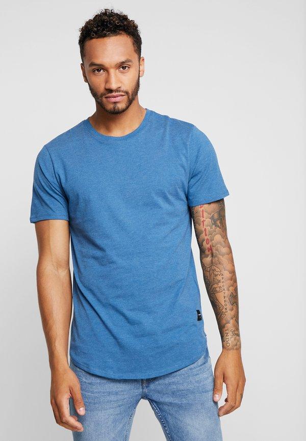 Only & Sons ONSMATT 5-PACK - T-shirt basic - white/dark/blue/ melange/cab/wielokolorowy Odzież Męska CJWG