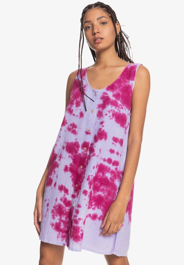 Day dress - tie dye pastel lilac