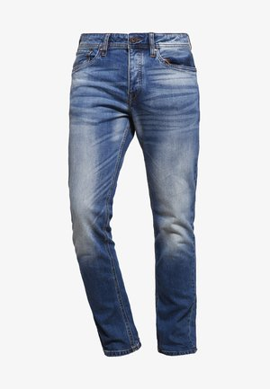 JJIMIKE JJORIGINAL  - Straight leg jeans - blue denim