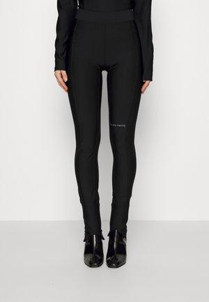 FEMALE - Leggings - Trousers - black